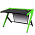DXRacer Gaming Desk Green - Angle