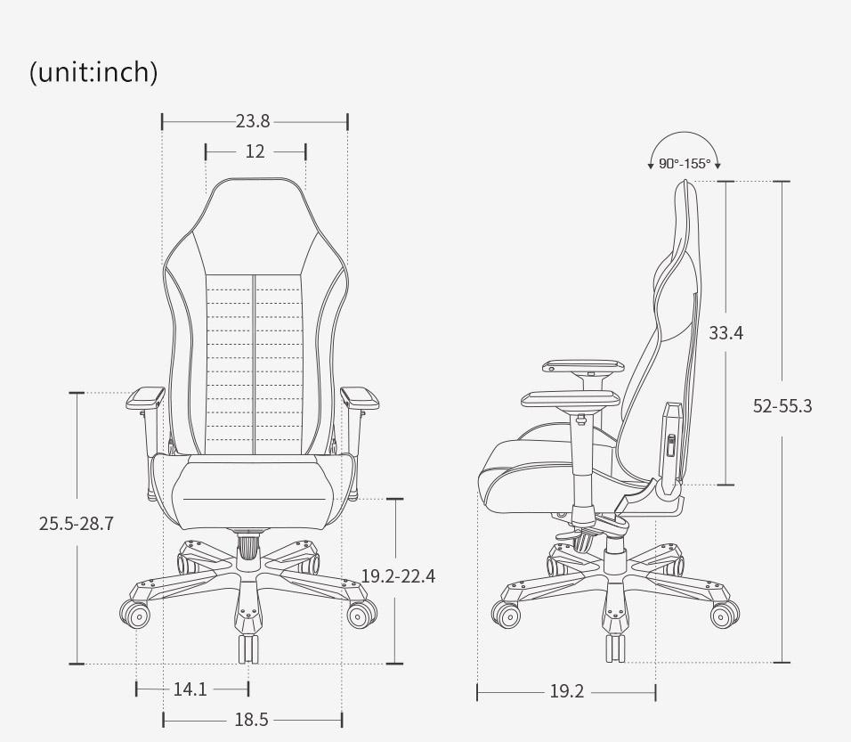DXRacer IS188 - Iron Series