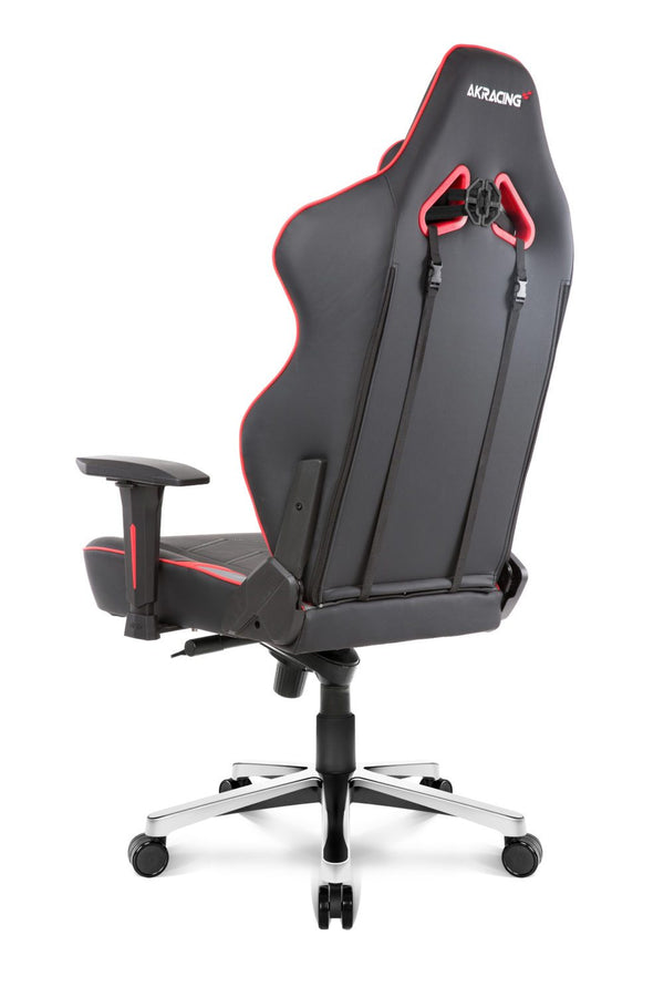 AKRacing Max Red - Side Angle