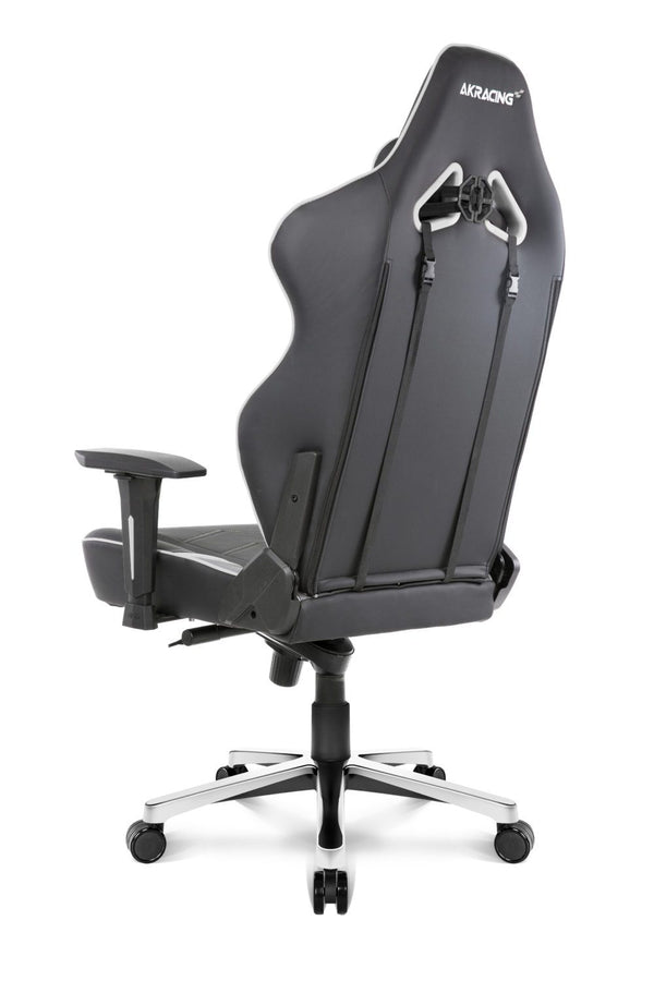 AKRacing Max White - Back Angle