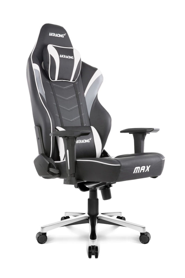 AKRacing Max White - Side Angle