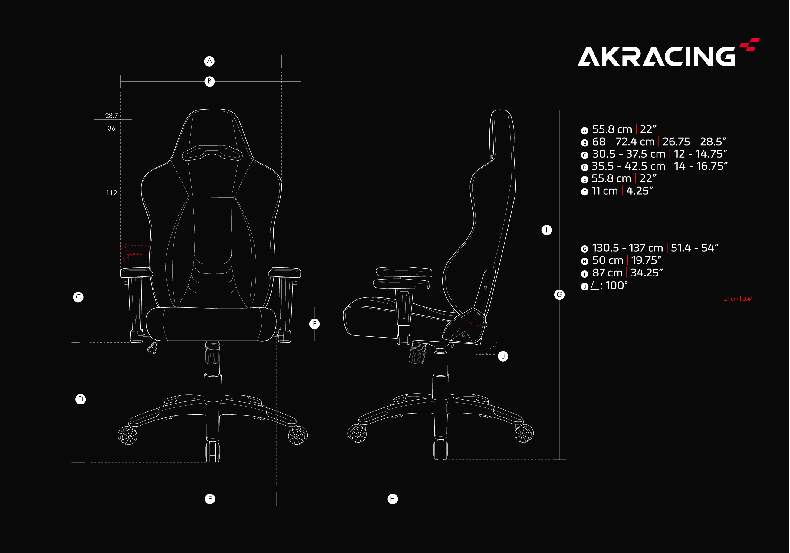 AKRacing Obsidian