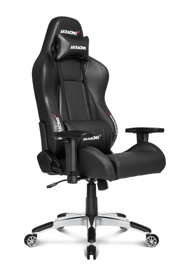 AKRacing Premium Carbon Black - Side Angle