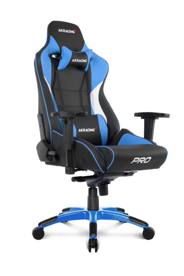 AKRacing Pro Blue - Side Angle
