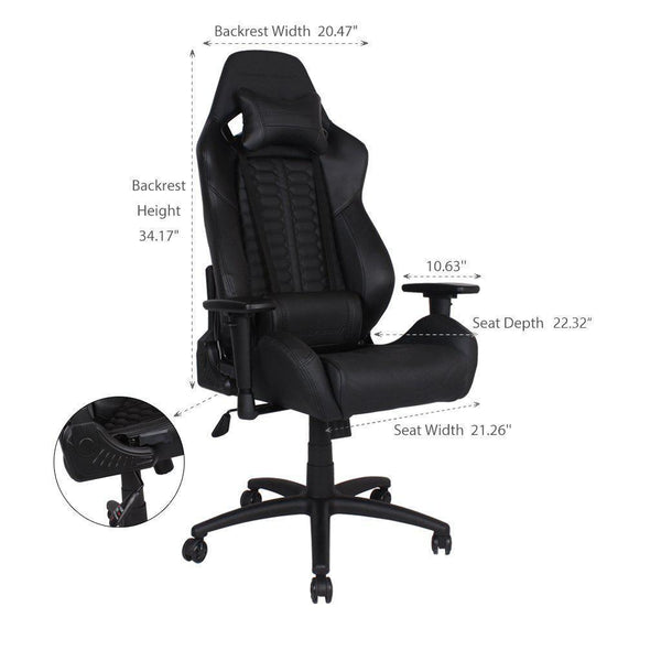 Anda Seat Dark Demon - Size