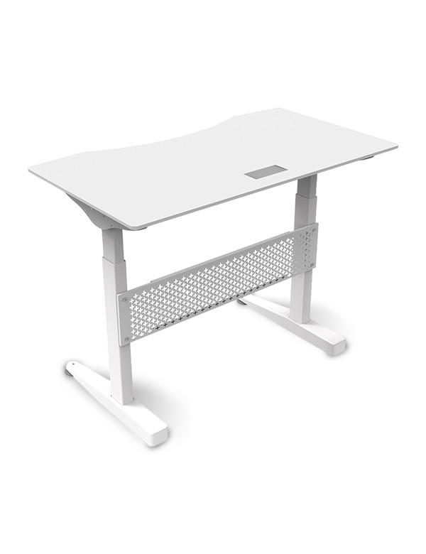 Ewin Gaming Desk (SRA-WHITE) - Front