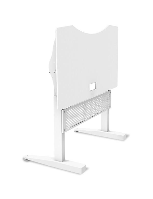 Ewin Gaming Desk (SRA-WHITE) - Adjustable
