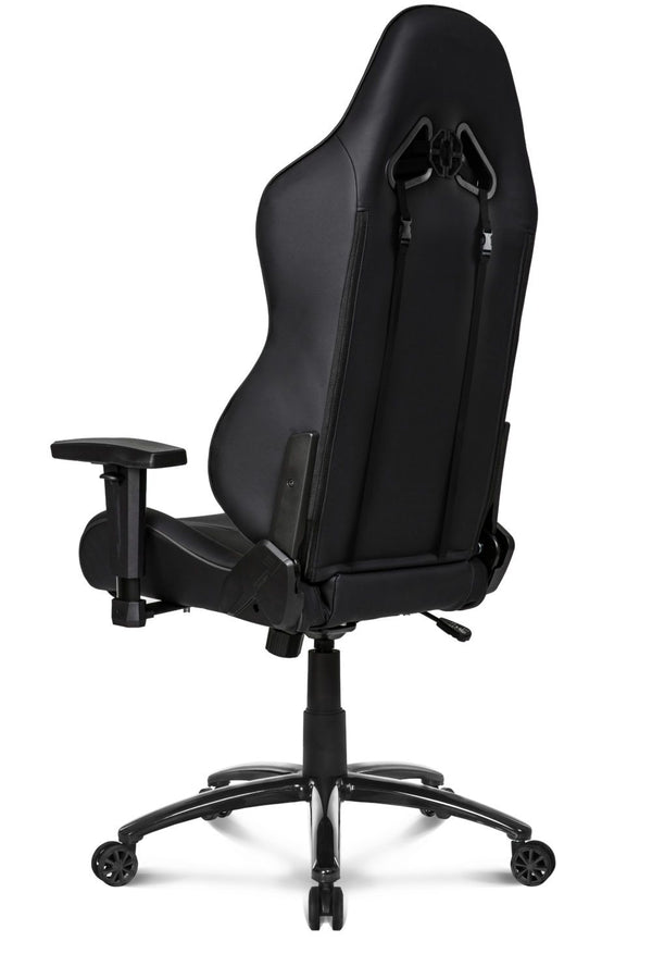 AKRacing SX Black - Back Angle
