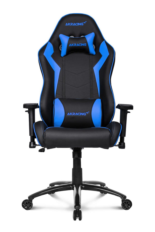 AKRacing SX Blue - Front