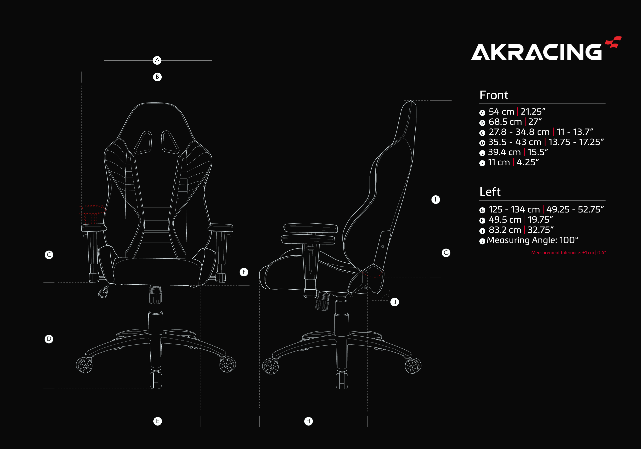 AKRacing SX (White)