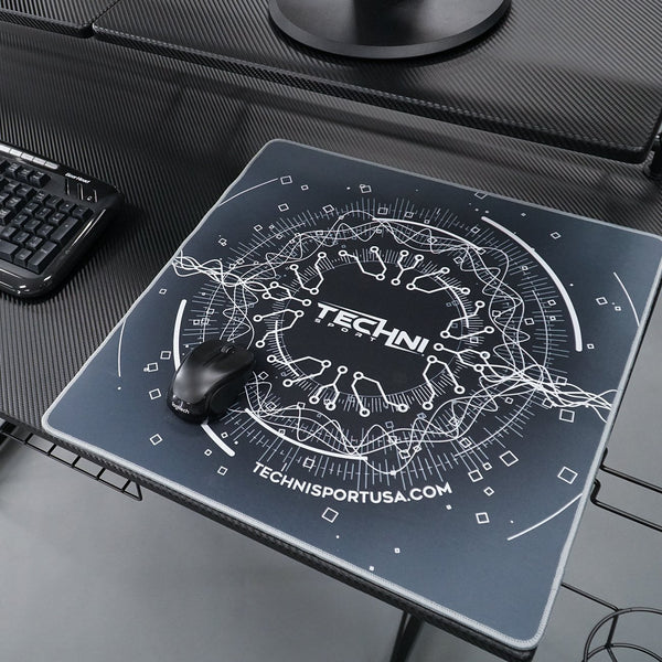 Ultimate Circuit mouse pad Grey - Lifestyle