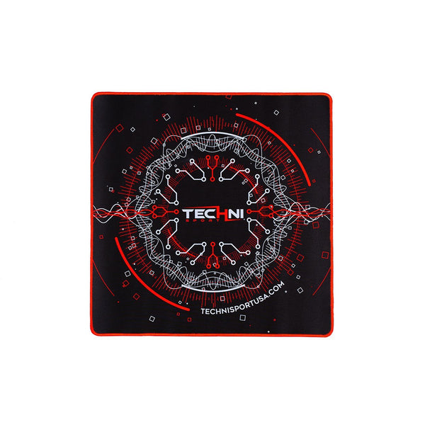 Ultimate Circuit mouse pad Red - Front