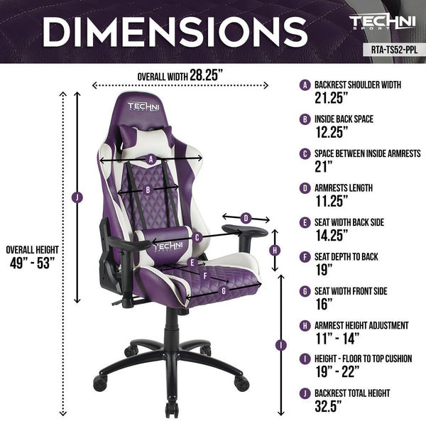 Techni Sport TS52 Purple - Size