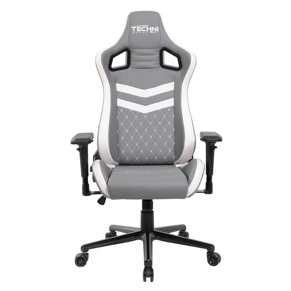 Techni Sport TS83 White - Front without cushions