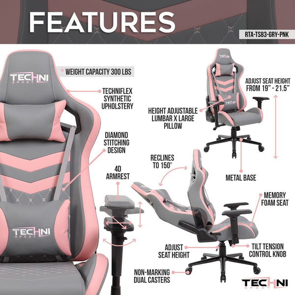 Techni Sport TS83 Pink - Features