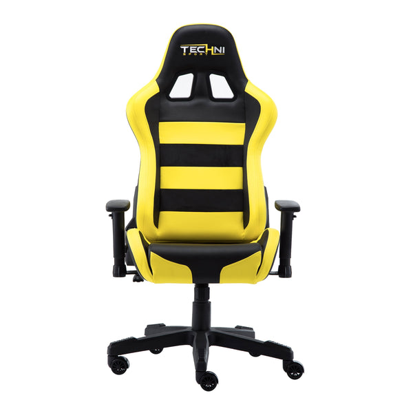 Techni Sport TS91 Yellow - Front without cushions