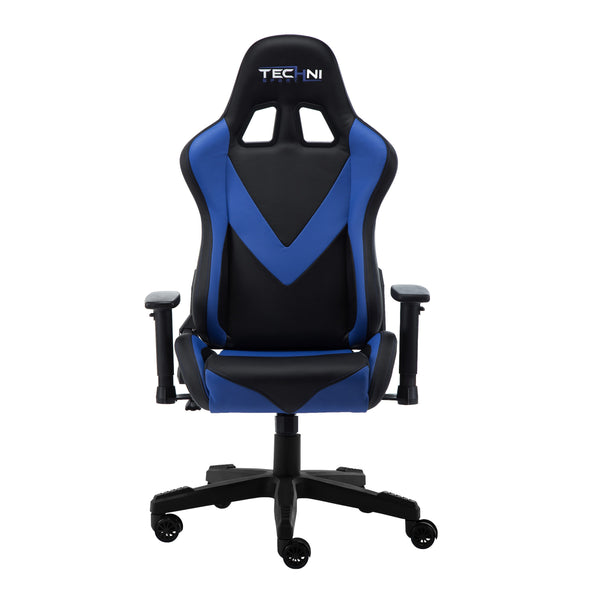 Techni Sport TS92 Blue - Front without cushions