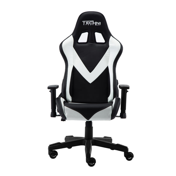 Techni Sport TS92 White - Front without cushions