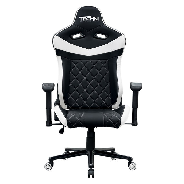 Techni Sport TSXL1 White - Front without cushions