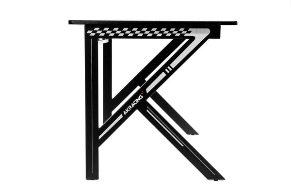 AKRacing Gaming Desk White - Side