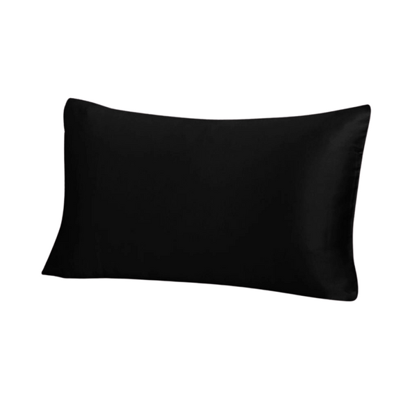 Black-Queen-Zippered-Silk-Pillowcase