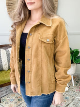 Load image into Gallery viewer, Corduroy Comfort Jacket