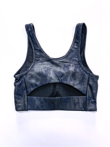 Black & Blues Sports Bra