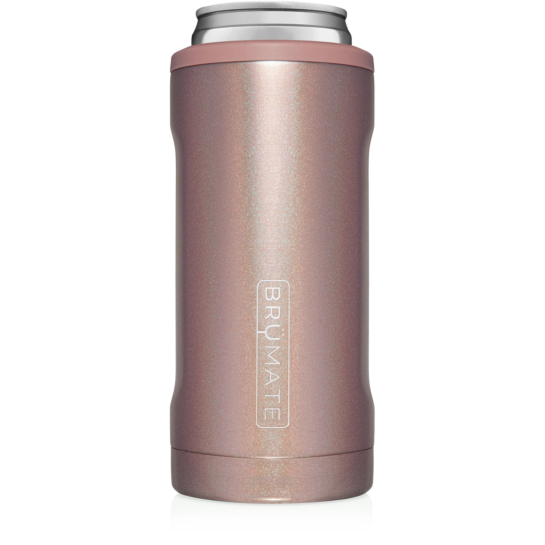 Rose Gold Glitter Hopsulator Slim