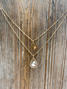 Gracefully Refined Layering Necklace