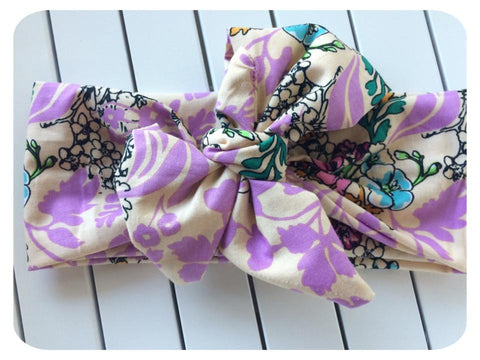 Big Bow Free Spirit Head Wrap