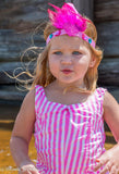 Loving Charms Feather Headband