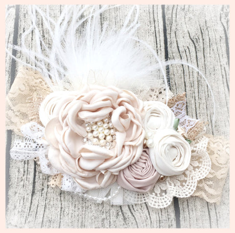 Belle Shabby Chic Headband