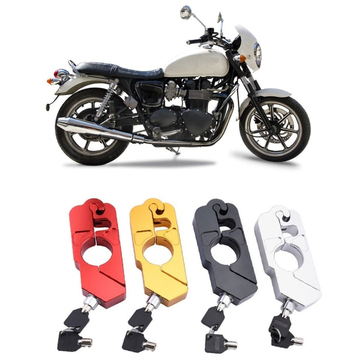 Universal Motorcycle Grip Lock