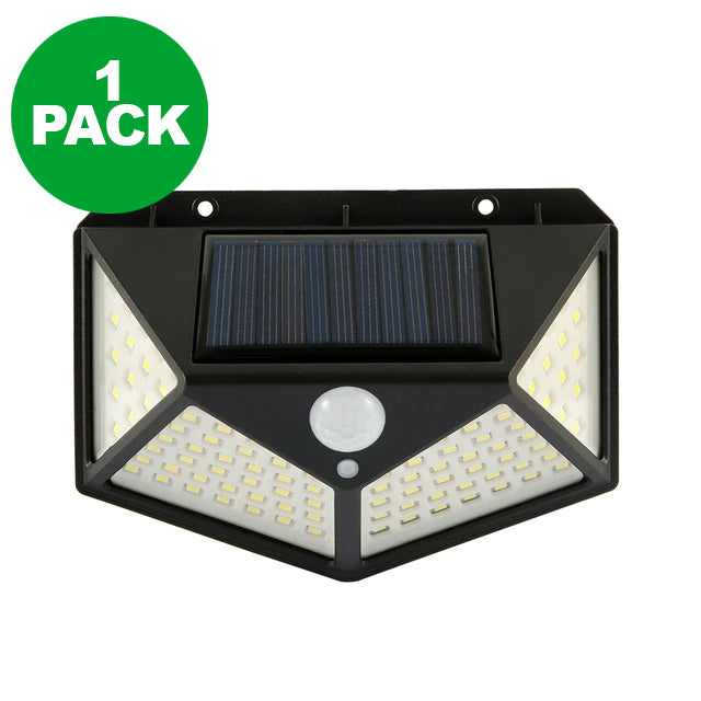 Solar Powered Wall Mounted Motion Sensor LED Light