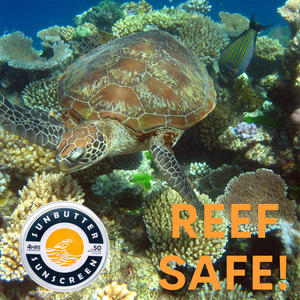 Sunbutter - safe to use for reef exploring and marine environments