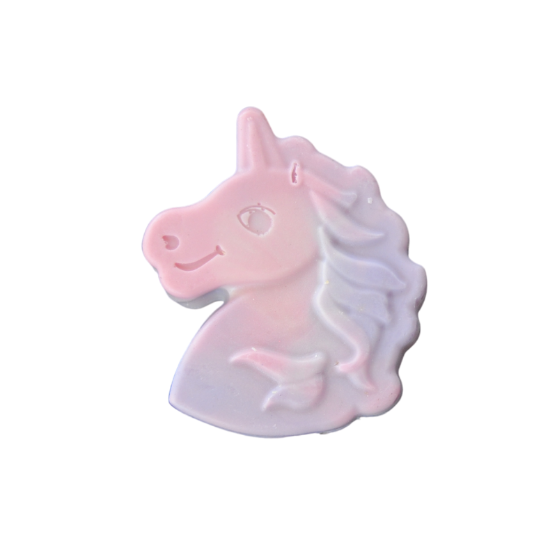 Pink & purple unicorn soap for kids - fun bathtimes - great stocking filler