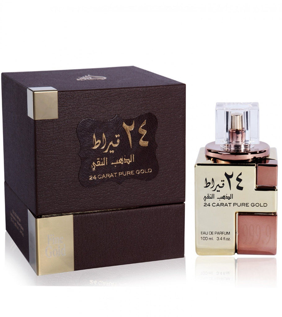 Lattafa 24 Carat Pure Gold Perfume For Unisex-100 ML - Paksa Pk