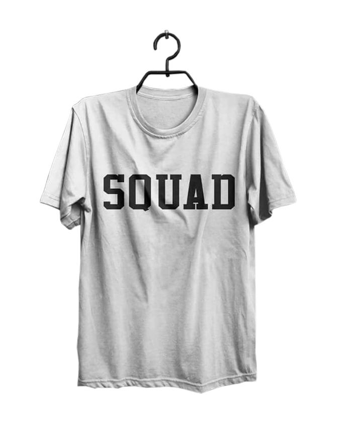Squad Printed Round Neck T-shirt For men