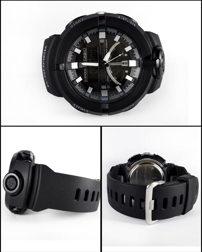 Black Sport Watch For Men - Paksa Pk