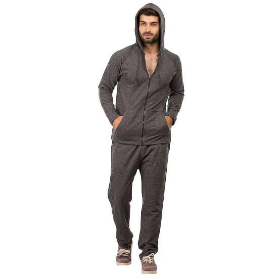 Charcoal Track Suit For Men - Paksa Pk
