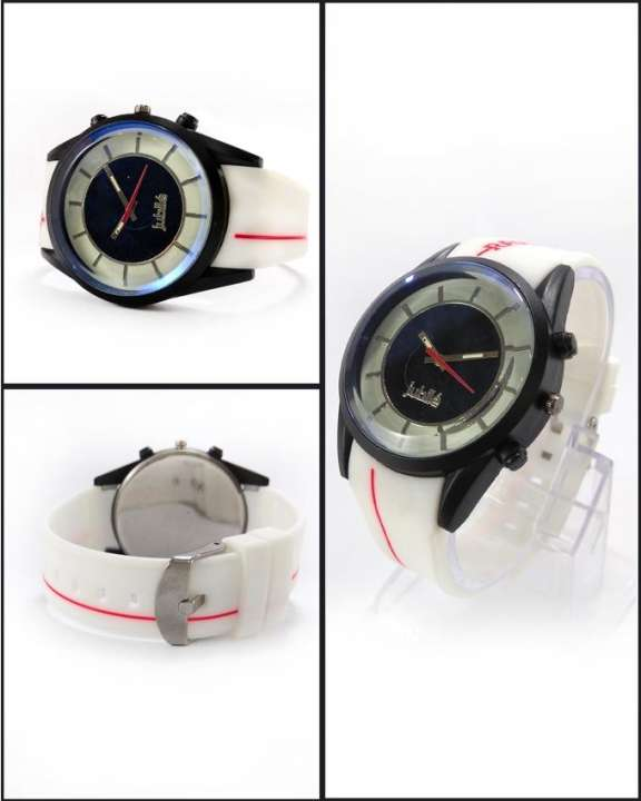 White Sport Watch For Men