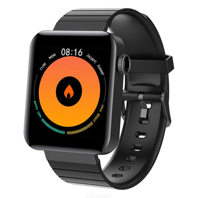 Mi5 Smartwatch Black for Android & iOS for all Wrist Sizes - Paksa Pk