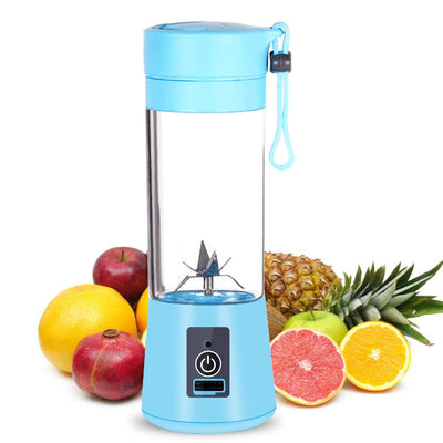 PORTABLE RECHARGEABLE JUICER BLENDER WITH 6 BLADES - Paksa Pk