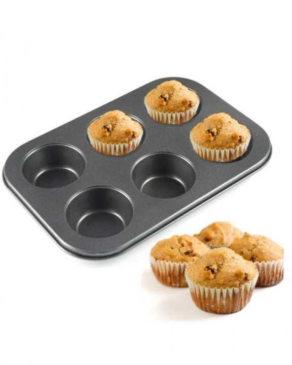 Cupcake Muffin Baking Tray Non-Stick-6 Shape