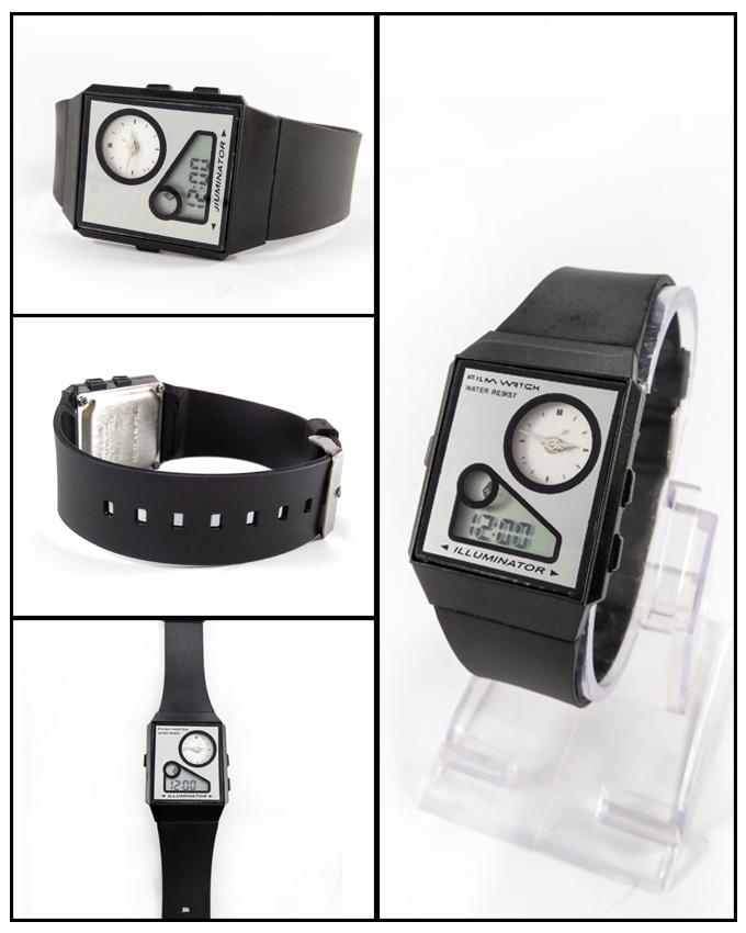 Analog With Digital Watch For Men - Paksa Pk
