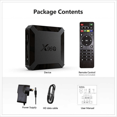 Smart Box X96Q Mini Quad Core 2g-16g 4K 60FPS ANDROID 10V - Paksa Pk