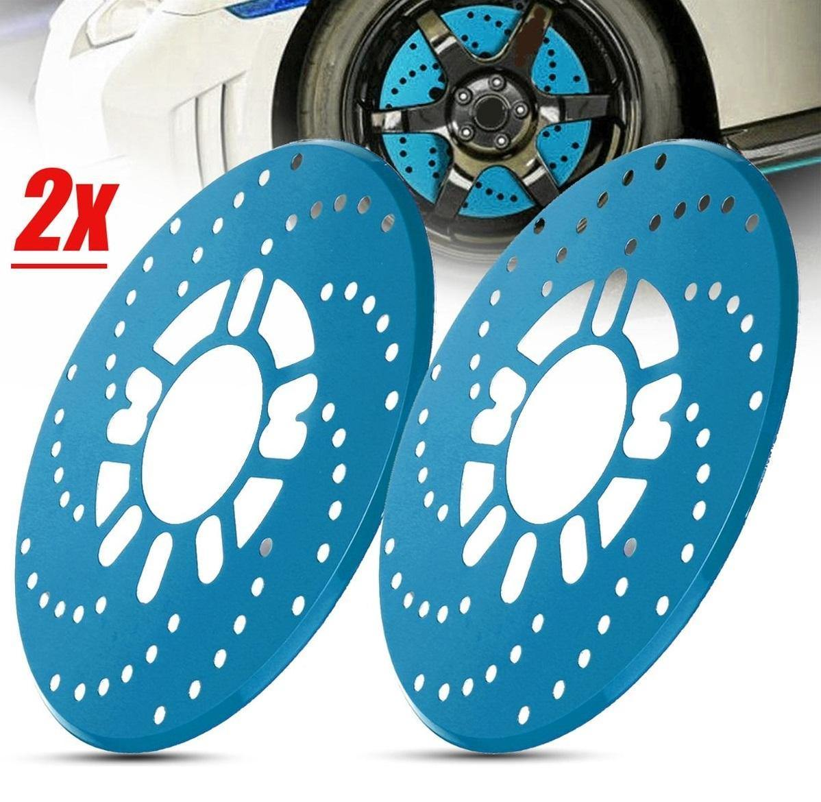Car Aluminum Alloy Wheel Disc-2 Pcs