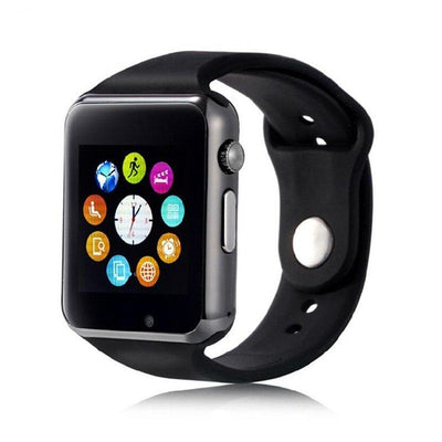 W08 Smart Watch Sim Supported Black - Paksa Pk