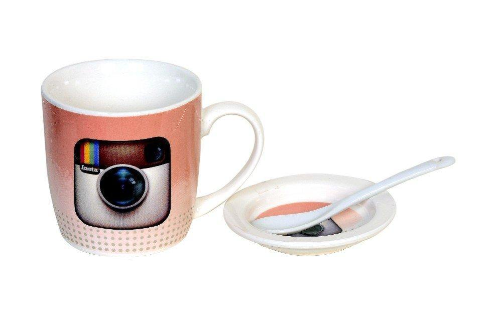 Instagram Mug With Spoon