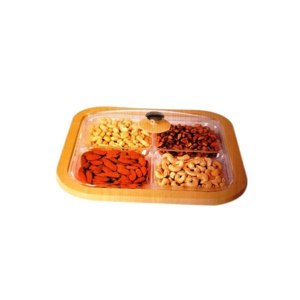 Dry Fruit Tray For Serving